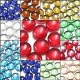 10X Wunderschöne Glasmurmeln 14 mm Perlen Balls Aquarium Dekoration