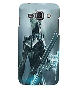 ColourCraft Electric Man Design Back Case Cover for SAMSUNG GALAXY ACE 3 LTE S727