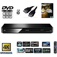 Panasonic DMP-BDT380 (MULTIREGION FOR DVD) Smart , 4K Upscaling, Blu-Ray Player with Built…