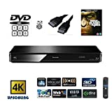 Die besten Panasonic Smart-Blu-ray-Player - Panasonic dmp-bdt380 (Multiregion für DVD) Smart, 4 K Upscaling, Blu-ray Bewertungen