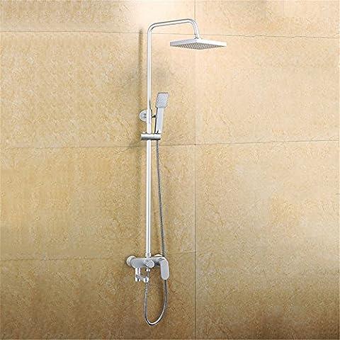 CAC Spazio di alluminio kit doccia, doccia ugelli, hand-held doccia doccia C213