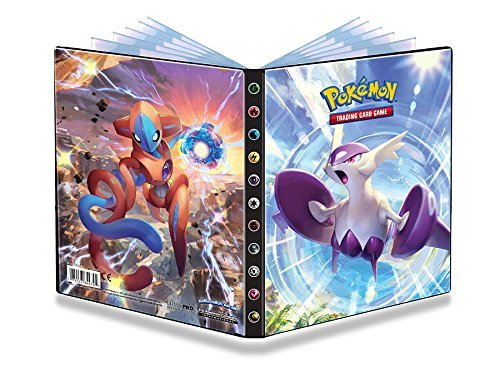 Preisvergleich Produktbild Ultra Pro - 4-Pocket Portfolio POKEMON X & Y 6/ XY6 Motiv: Latios+Deoxys