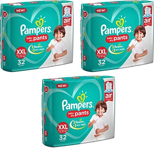 Pampers Baby Dry Pants XXL (96 PCS)