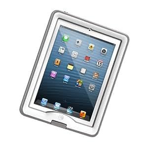 LifeProof nüüd, wasserdichtes nüüd Schutzgehäuse und Abdeckung/Ständer für Apple iPad 4/3/2 weiß/grau
