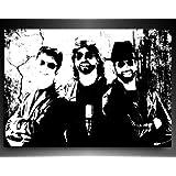 Bilder Kunstdrucke / Boikal / Bild mit Keilrahmen Bee Gees 100x70 cm xxl.94