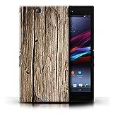 KOBALT® Hülle Case für Sony Xperia Z Ultra | Treibholz