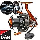 DAM Quick Surfhammer 360 FD Brandungsrolle gratis Pro Line x-treme Schnur 0,35mm