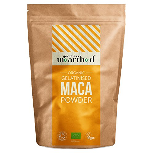 Goodness-Unearthed-Organic-Gelatinised-Maca-Powder-Soil-Association-Certified-100-Pure-Organic-Maca-Powder-Superfood-Rich-In-Antioxidants-Natural-Energy-Booster-Vegan-Society-Registered-Packed-in-The-
