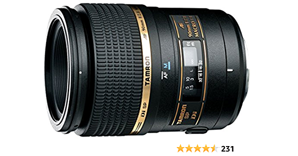 Tamron Af 90mm F 2 8 Di Sp A M 1 1 Macro Lens For Canon Camera Photo