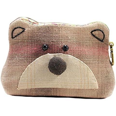 Bear bambini borsa Patchwork Trapunta Kit Kit da cucito Brown