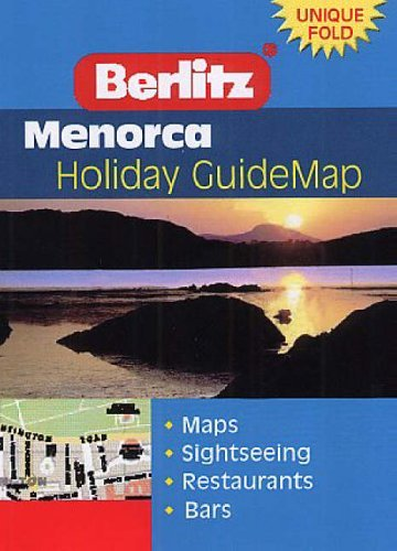 Menorca Berlitz Guidemap (Berlitz Holiday Z Guidemaps S.)