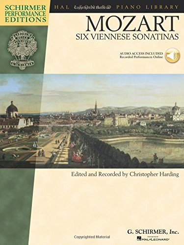 W.A. Mozart: Six Viennese Sonatinas - Schirmer Performance Edition (Hal Leonard Piano Library)