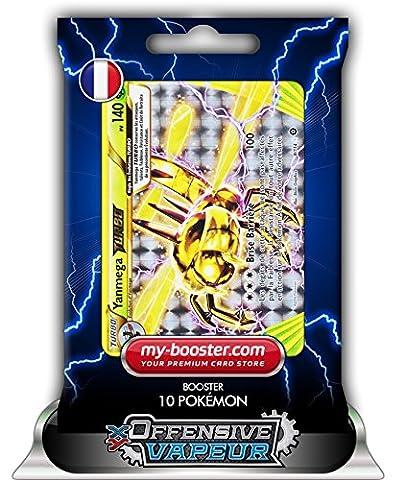 YANMEGA TURBO 8/114 140PV XY11 OFFENSIVE VAPEUR - Booster de 10 cartes Pokemon francaises my-booster