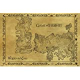 Game Of Thrones - Antique Map 61 x 91 cm Affiche