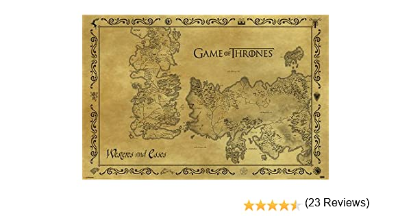 Gb eye lord of the rings map parchment poster wood various 65 x poster game of thrones antique map reasonably priced poster xxl wall poster publicscrutiny Images