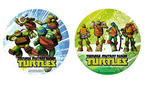 ldkröten Ninja Turtles Deko Kuchen Geburtstag 20 cm zufällig - 765 ()