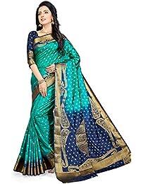 MSRETAIL Silk with Blouse Piece Saree
