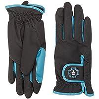 PFIFF 101951 Damen Winter Handschuhe, Reithandschuhe Kunstleder, 3 Farben XS-XL