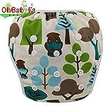 ohbabyka verstellbar wiederverwendbar Baby Schwimmen Anzug für Jungen oder Mädchen Bademode Badehose