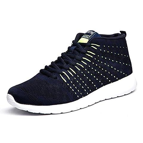 AFFINEST Scarpe Mesh Platform Dimagranti Sportive Basculanti Fitness Scarpe da Ginnastica Sneaker Sommer und