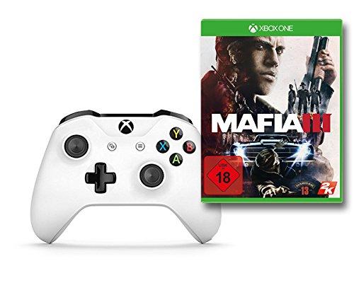 Xbox Wireless Controller Weiß + Mafia III