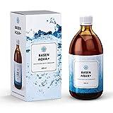 Basen Aqua+, Basisches Wasser, Alkalisches Wasser, Wasserstoffwasser mit pH-Wert 11 und Redoxwert von minus 900 mV, Aktivwasser-Konzentrat zum trinken, 500 ml
