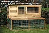Kaninchenstall de Luxe, Dobar, XXL, mit drei Türen - 3