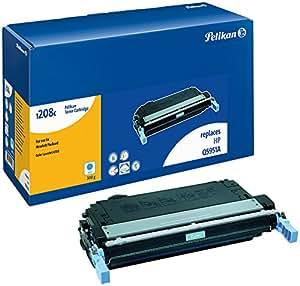Pelikan 629128  Toner compatible pour HP Q5951A 643A 10000 pages Cyan