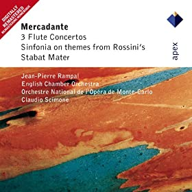 Mercadante : Flute Concerto in D major : II Allegro