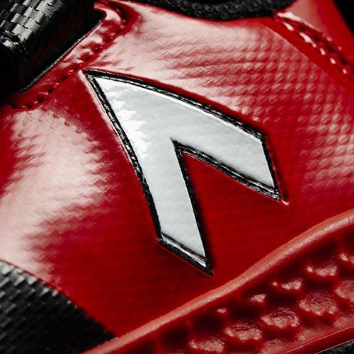 adidas  Rapidaturf Ace El I, Chaussures de Football Entrainement Unisexe - enfant Nero (Negbas/Ftwbla/Rojo)