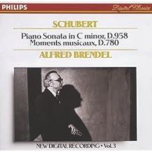 Schubert: Piano Sonata In C minor, D958; 6 Moments Musicaux, D.780 (CD 3 of 7)