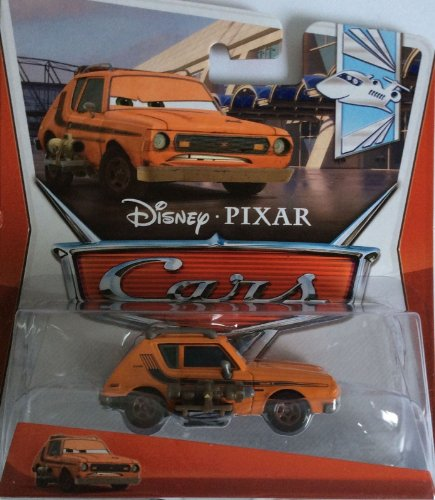 Disney Pixar CARS 2 Movie 1:55 Die Cast Car Grem mit Waffe