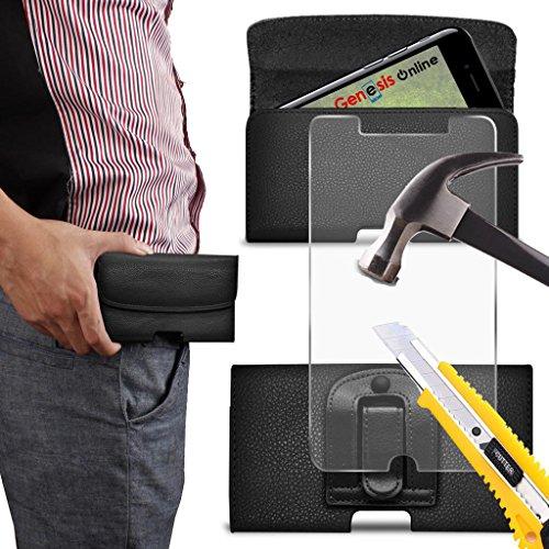 cinturon-negro-horizontal-google-pixel-xl-case-negro-cinturon-de-fina-piel-sintetica-magnetico-funda