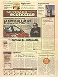 FIGARO ECONOMIE (LE) [No 21037] du 21/03/2012 - AUTOMOBILE EUROPEENNE - LE PATRON DE FIAT TIRE LA SONNETTE D'ALARME - HAUSSE DES RETRAITES COMPLEMENTAIRES DU PRIVE - L'ARABIE SAOUDITE APAISE LE MARCHE PETROLIER - LA GUERRE DU CAMEMBERT AURA BIEN LIEU EN NORMANDIE - 3 FABRICANTS DE CROQUETTES POUR CHIENS CONDAMNES POUR ENTENTE - ROYAUME-UNI - CAMERON VA BAISSER LES IMPOTS SUR LES HAUTS REVENUS - OPTICIENS ET MUTUELLES A COUTEAUX TIRES...