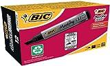 BIC Permanent Marker Marking 2300 ECOlutions. Keilspitze, 3,7 bis 5,5 mm, Schachtel  12 Stück, schwarz