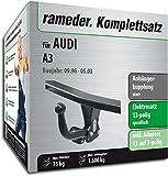 Rameder Komplettsatz, Anhängerkupplung starr + 13pol Elektrik für Audi A3 (112696-01557-1)