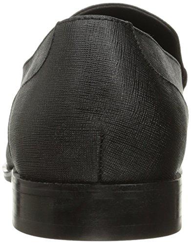 Kenneth Cole Reaction Lead On Rund Leder Slipper Black