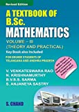 A TEXT BOOK OF B.SC. MATHEMATICS VOL III (FOR ANDHRA)