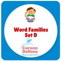 Word Families Set D