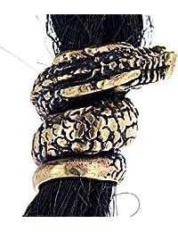 El pelo de la perla de bronce Dragón financiera.p perlay