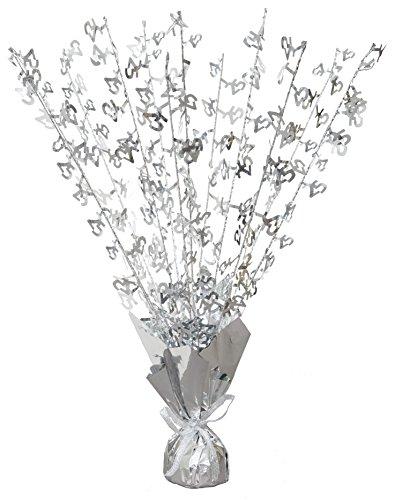 Unique Party Supplies Glitzer Luftballon-Beschwerer, ideal für den Hochzeitstag, Mittelstück