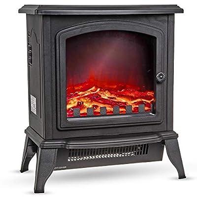 LIVIVO Log Effect Electric Stove Fire