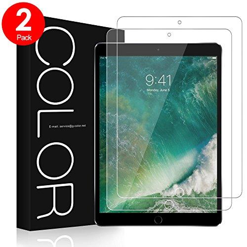G-Color ipad pro 10.5 Schutzfolie [2 Stück], Panzerglas [Blasenfrei] [9H Härte] [Kratzfest ] Schutzfolie für ipad pro 10.5