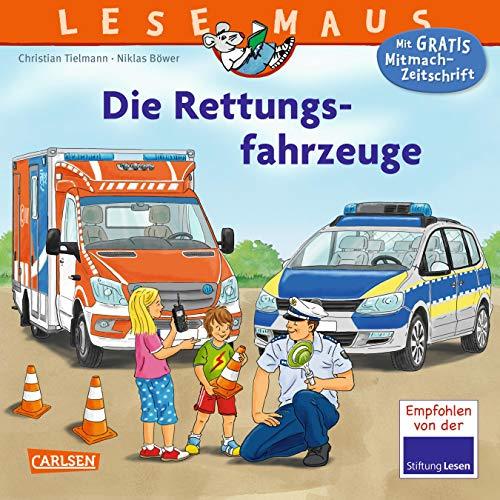 Die Rettungsfahrzeuge (LESEMAUS, Band 158)