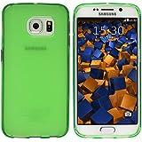 mumbi Schutzhülle Samsung Galaxy S6 Edge Hülle grün (Slim - 1.2 mm)
