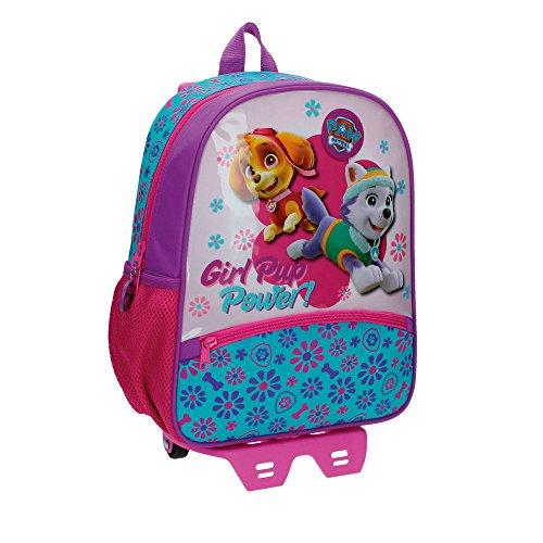Imagen de la patrulla canina girl  infantil, 9.8 litros, color rosa
