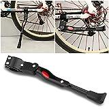 Mopalwin Pata de Cabra de Bicicletas, Aluminio Soporte Ajustable del Retroceso de Bici Caballete para Bicicleta 22'a 28' (Negro)