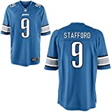 9 Matthew Stafford Trikot Detroit Lions Jersey American Football Shirt Mens