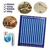 yenjos Cleaning Sticks Enzima atic Drain Cleaning Sticks Blu Pipeline Vasca da bagno profonda scarico lavello da cucina Carbone Attivo 12PCS/24PCS