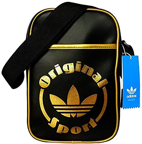 adidas Small Items Bag kleine Tasche Trefoil schwarz